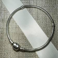 pandora silver link bracelet images Pandora jewelry iconic silver charm bracelet poshmark jpg