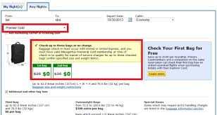 does united charge for luggage united airlines reduces star alliance gold checked baggage allowance