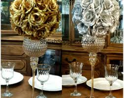 gold centerpieces gold centerpieces etsy