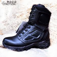 buy boots us rocooutdoor mens hking boots us army tactical boots side zip