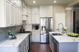 white kitchen cabinets with gray glaze colonial ii maple bright white brushed gray glaze framed