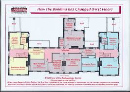 bagshot police station floor plans surrey heath archaeology and