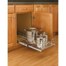 kitchen pull out cabinet rev a shelf 7 in h x 14 375 in w x 22 in d base cabinet pull