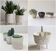 accessories nice mid century modern white ceramic planters for
