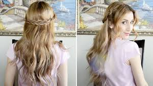 fancy hair rope braided hairstyle s day hair inspiration