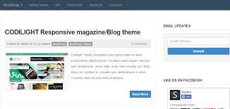 best 10 responsive seo optimized free blogger templates