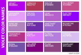 lilac color list of colors with color names graf1x com