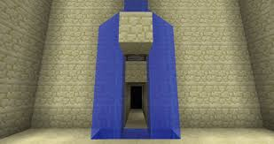 waterfall splittersecret door i e batcave entrance minecraft