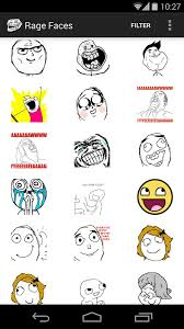 Meme Faces In Text Form - rage faces android apps on google play