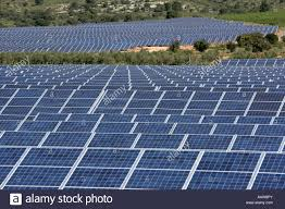 esp spain beneixama solar power station on 500 000 square meters