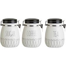 kitchen jars and canisters premier housewares ceramic kitchen canisters jars ebay