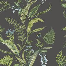 k2 fern u0026 flowers green floral wallpaper green floral wallpaper