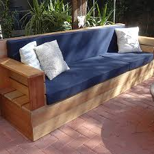 home dzine garden making upholstered cushions for outdoor sofa