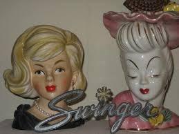 575 best lady head vases images on pinterest dolls vintage