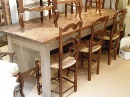 lovely rustic kitchen tables and chairs cottage style dining room