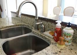 Diy Kitchen Sink by New Faucet And A Diy Kitchen Sink Organizer Sincerely Sara D