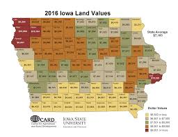 Iowa State Map 90th Annual Soil Management Land Valuation Conference 2017