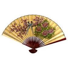 oriental fans wall decor oriental furniture gold leaf cherry blossom fan size 48 w x 30 h