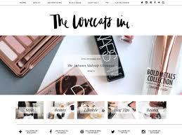 the lovecats inc lifestyle blog wordpress custom design designed