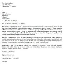 cover letter example for job this cover letter makes an immediate