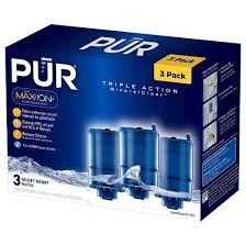 Pur Horizontal Faucet Mount Pur Mineralclear Replacement Faucet Filter 3 Pack Target