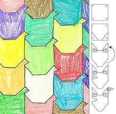 bird tessellation art projects for kids inspiring bridal shower