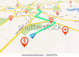 navigation map navigation map stock images royalty free images vectors