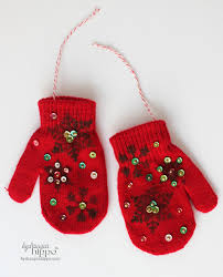 ornaments from mittens hydrangea hippo by priest