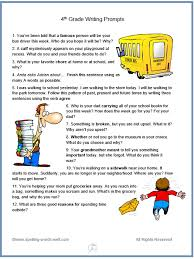 write the pattern of past tense and give exle 4th grade writing prompts for fun spelling and language practice