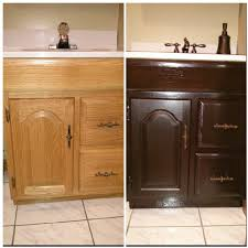 like new bathroom vanity general finishes java gel stain x 3