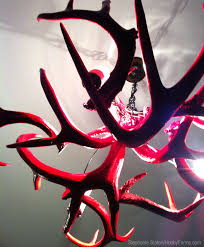 Diy Antler Chandelier Diy Antler Chandelier Hobby Farms