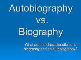 ks2 literacy biography and autobiography exploring elements of biography and autobiography lesson plan