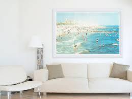 wall art interesting framed beach art astounding framed beach