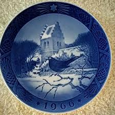 1966 royal copenhagen plate blackbird