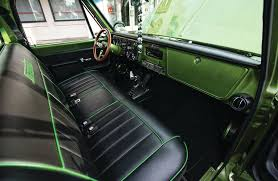 Chevrolet C10 Interior 1972 Chevrolet C10 Front Seats 05 Lowrider