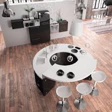 table de cuisine sur mesure cuisine design ronde alicante 5 haut de gamme sur mesure