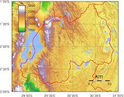 Michigan Elevation Map by Rwanda Topographic Map Topographic Map