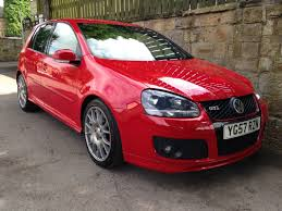 volkswagen golf 2 0 gti tfsi edition 30 5dr 230 red and co are
