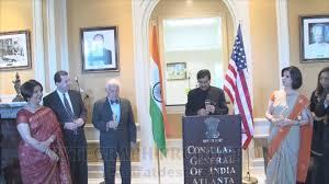 consul general of india in atlanta youtube
