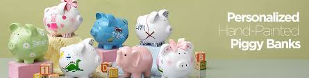 customized piggy bank personalized piggy banks personalization universe
