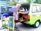 ขอแนะนำรถตู้กาแฟโบราณ Coffee van