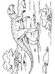 psittacosaurus ceratopsian dinosaur coloring eclectic
