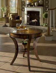 round foyer table as perfect complement beauty home decor