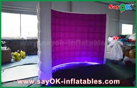 Inflatable Photo Booth Kiosk Led Wall Inflatable Photo Booth Party Led Photobooth