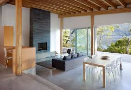Warm Up Your Home With These Home Interior Designs Involving Wood - House interior designs for small houses