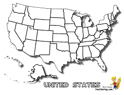 Map United States City Names by Map Of United States Of America With State Names Simplified
