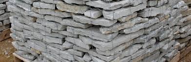 flatrock gray garden wall green stone company natural stone