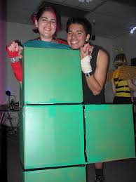 Tetris Halloween Costume 1980s Video Game Costume Ideas