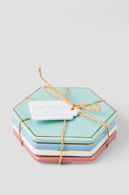 Drink Coasters by Ceramic Pastel Drink Coasters Set Francesca U0027s