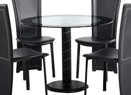 Esszimmer Glastisch Schwarz Esszimmer Stuhl Esszimmer Modern Esszimmer Stuhl